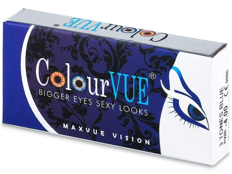 ColourVUE - 3 Tones (2čočky) - Barevné kontaktní čočky