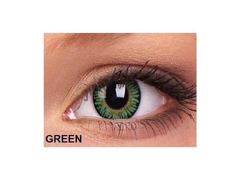 ColourVUE - 3 Tones (2čočky) - Green