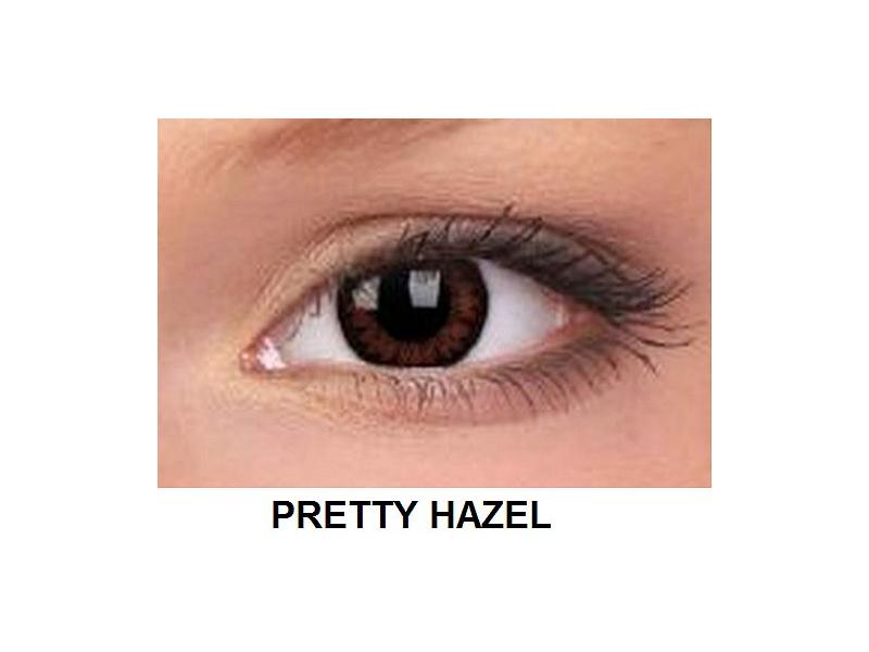 ColourVUE - BigEyes (2čočky) - Pretty Hazel