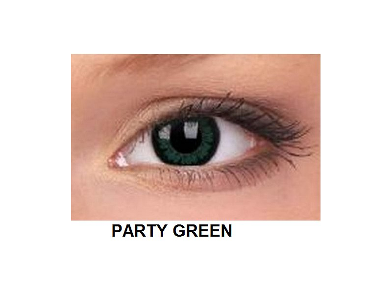 ColourVUE - BigEyes (2 čočky) - Party Green