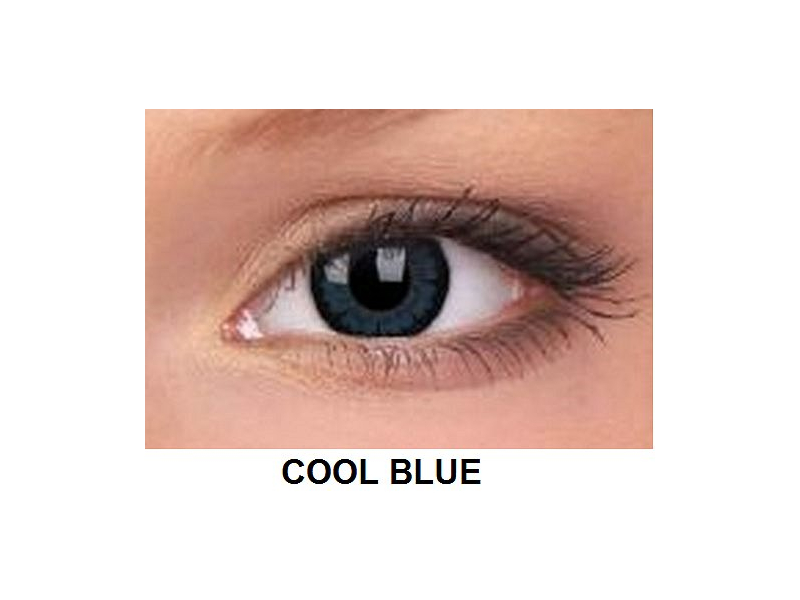 ColourVUE - BigEyes (2 čočky) - Cool Blue
