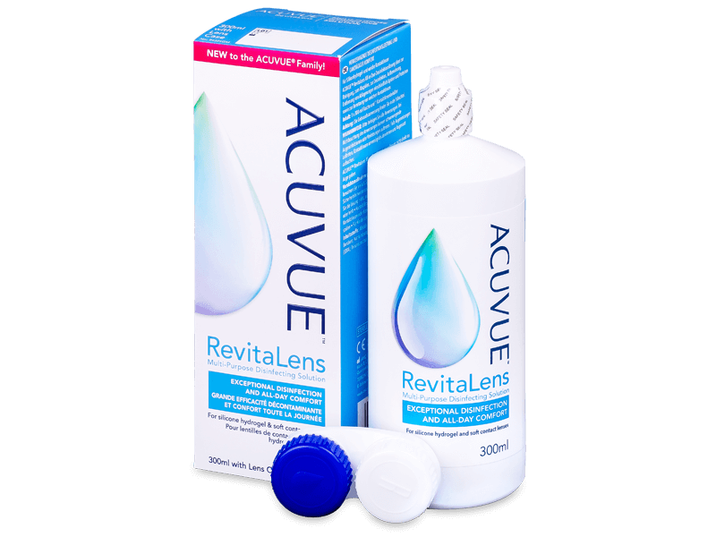 Roztok Acuvue RevitaLens 300 ml  - Čistící roztok