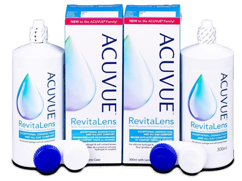 Roztok Acuvue RevitaLens 2x 300 ml  - Výhodné dvojbalení roztoku