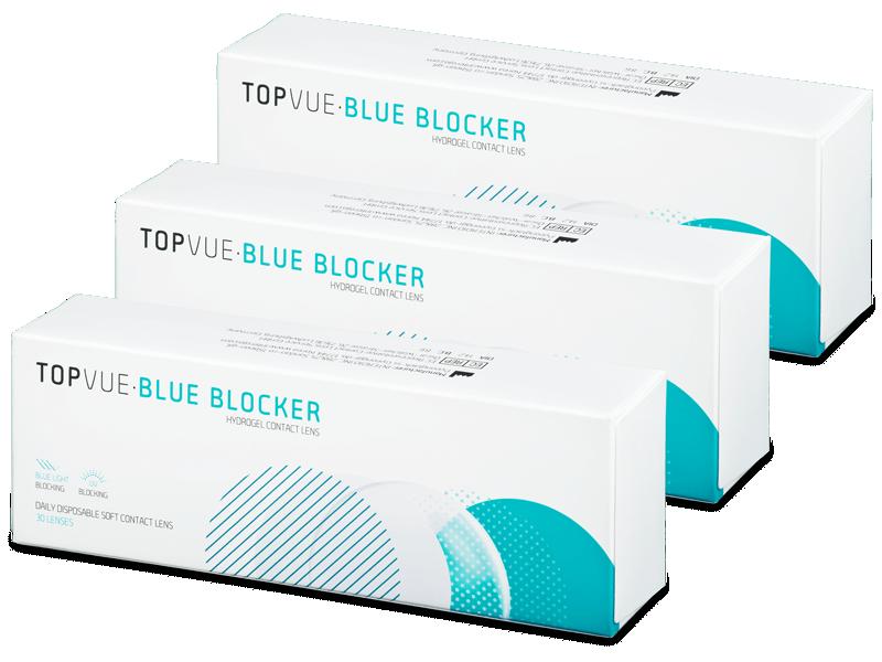 TopVue Blue Blocker (90 čoček) - Jednodenní kontaktní čočky