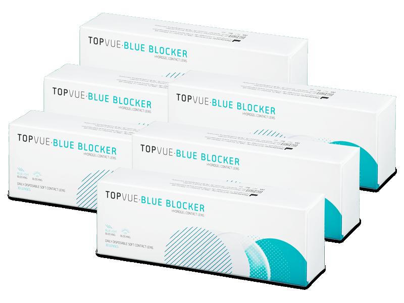 TopVue Blue Blocker (180 čoček) - Jednodenní kontaktní čočky