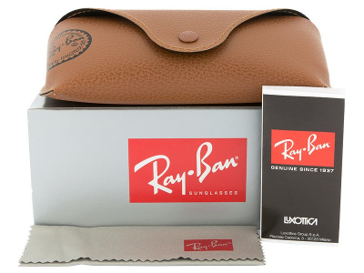 Ray-Ban Original Aviator RB3025 112/17  - Preview pack (illustration photo)