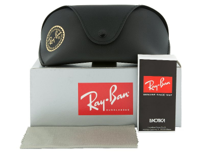 Ray-Ban RB3445 004  - Preview pack (illustration photo)