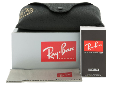 Ray-Ban Justin RB4165 622/5A  - Preivew pack (illustration photo)