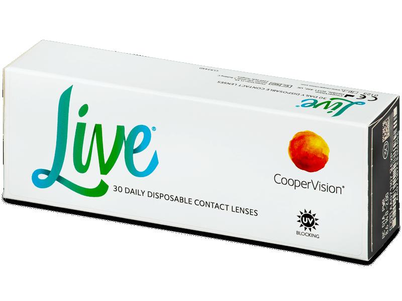 Live Daily Disposable (30 čoček) - Jednodenní kontaktní čočky