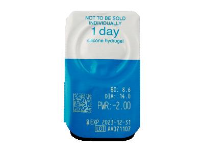Live Daily Disposable (90 čoček) - Vzhled blistru s čočkou