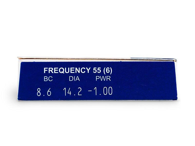 Frequency 55 (6čoček) - Náhled parametrů čoček