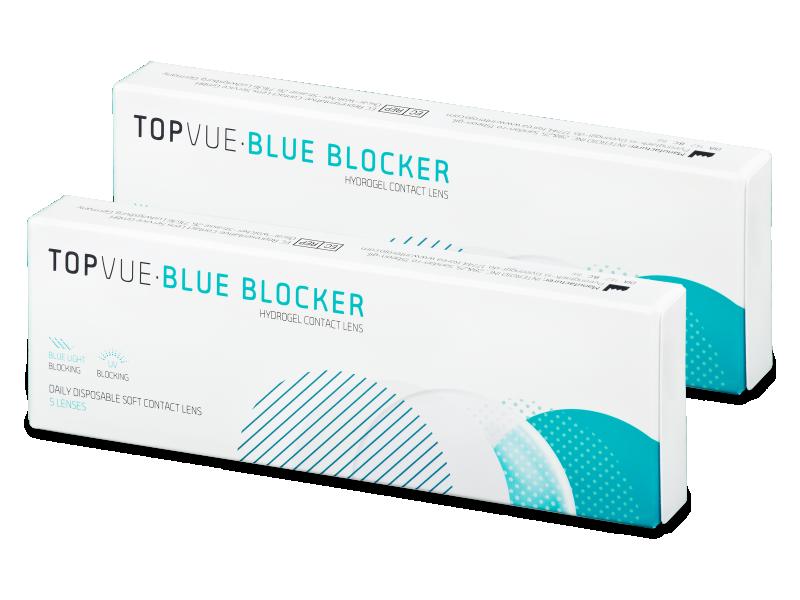 TopVue Blue Blocker (5 párů čoček) - Jednodenní kontaktní čočky