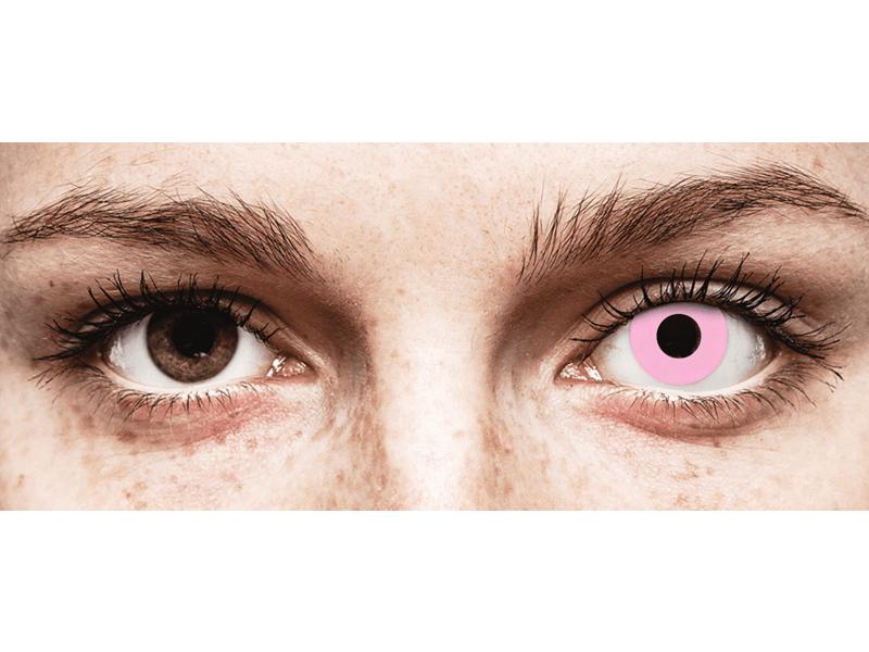CRAZY LENS - Barbie Pink - dioptrické jednodenní (2 čočky)