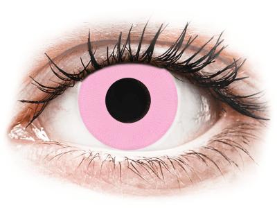 CRAZY LENS - Barbie Pink - nedioptrické jednodenní (2 čočky)