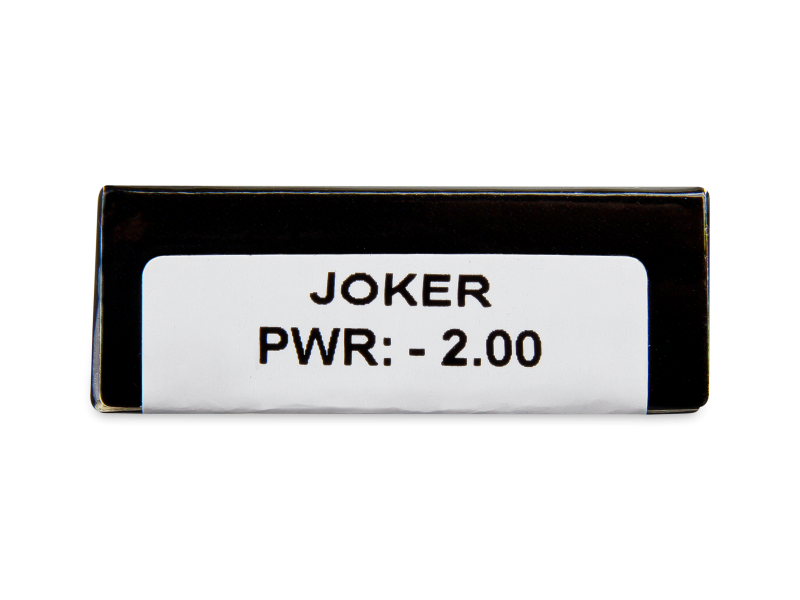 CRAZY LENS - Joker - dioptrické jednodenní (2 čočky)