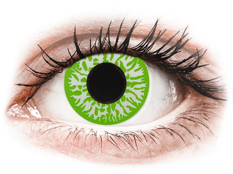 CRAZY LENS - Joker - dioptrické jednodenní (2 čočky) - Barevné kontaktní čočky