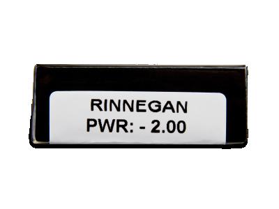CRAZY LENS - Rinnegan - dioptrické jednodenní (2 čočky)