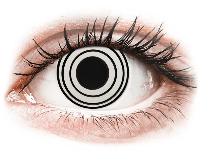 CRAZY LENS - Rinnegan - dioptrické jednodenní (2 čočky) - Barevné kontaktní čočky
