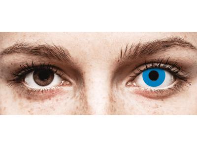 CRAZY LENS - Sky Blue - dioptrické jednodenní (2 čočky)