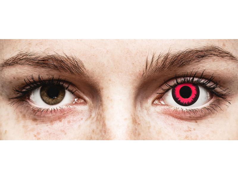 CRAZY LENS - Vampire Queen - nedioptrické jednodenní (2 čočky)