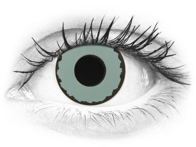 CRAZY LENS - Zombie Virus - dioptrické jednodenní (2 čočky)