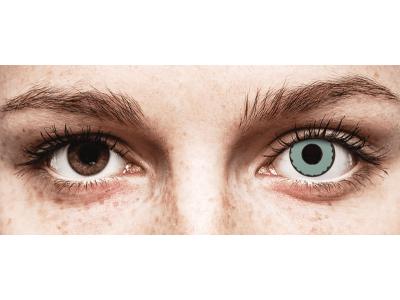 CRAZY LENS - Zombie Virus - nedioptrické jednodenní (2 čočky)