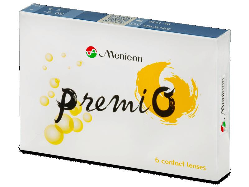 Menicon PremiO (6 čoček) - Čtrnáctidenní kontaktní čočky