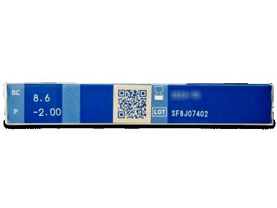Menicon PremiO (6 čoček) - Náhled parametrů čoček