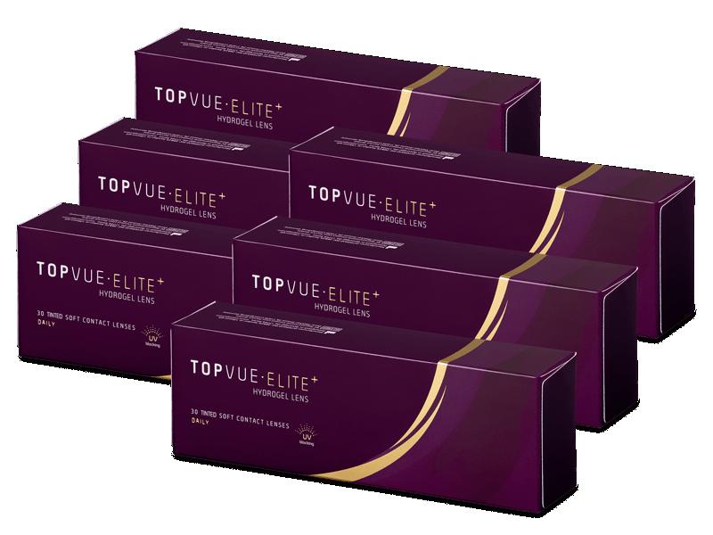 TopVue Elite+ (180 čoček) - Jednodenní kontaktní čočky