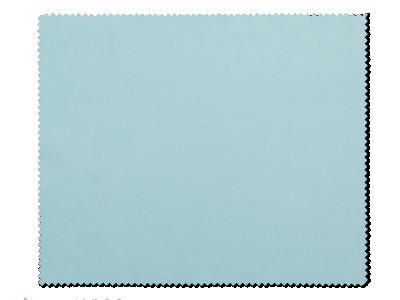 Čistící hadřík na brýle - světle modrý