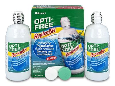 Roztok OPTI-FREE RepleniSH 2x300ml  - Předchozí design