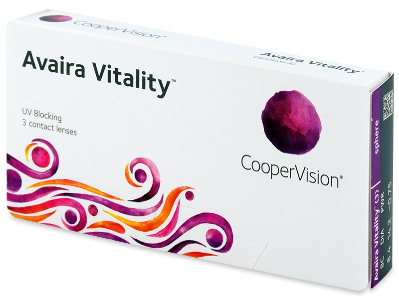 Avaira Vitality (3 čočky) - Contact lenses