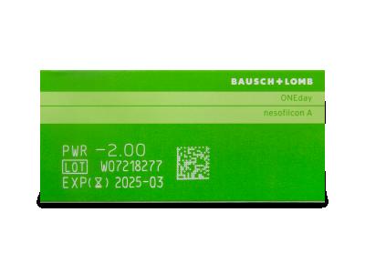 Biotrue ONEday (90čoček) - Náhled parametrů čoček