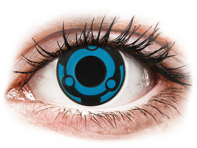 CRAZY LENS -  Vision - nedioptrické jednodenní (2 čočky) - Barevné kontaktní čočky