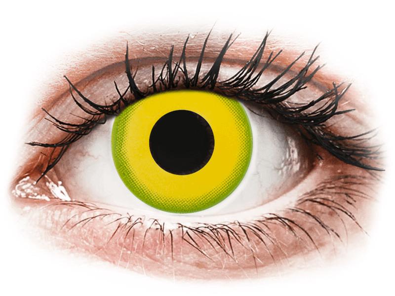 CRAZY LENS - Forest Children - nedioptrické jednodenní (2 čočky) - Barevné kontaktní čočky