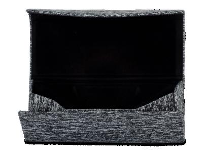 Pouzdro na brýle Brindle černé