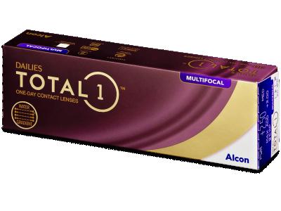 Dailies TOTAL1 Multifocal (30 čoček) - Multifokální kontaktní čočky