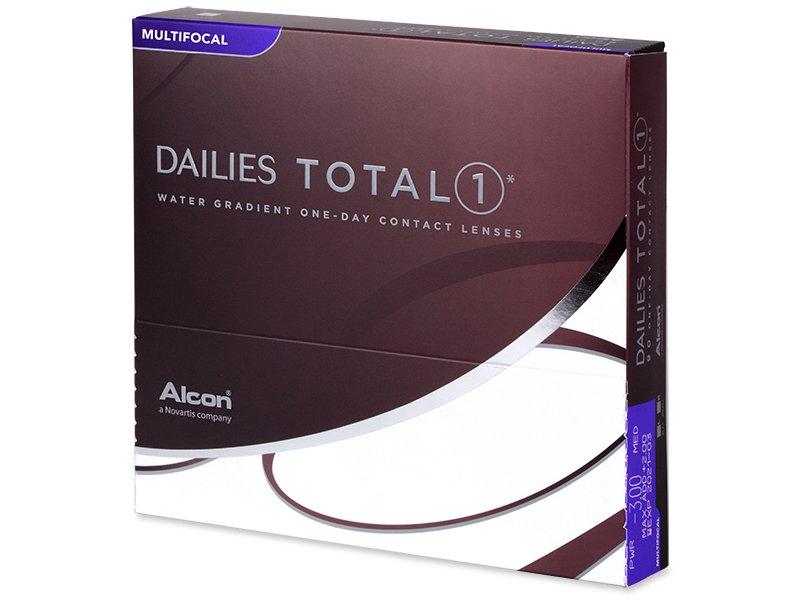 Multifokální kontaktní čočky - Dailies TOTAL1 Multifocal (90 čoček)