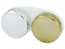 Příslušenství k čočkám - Pouzdro na čočky zrcadlové - zlaté
