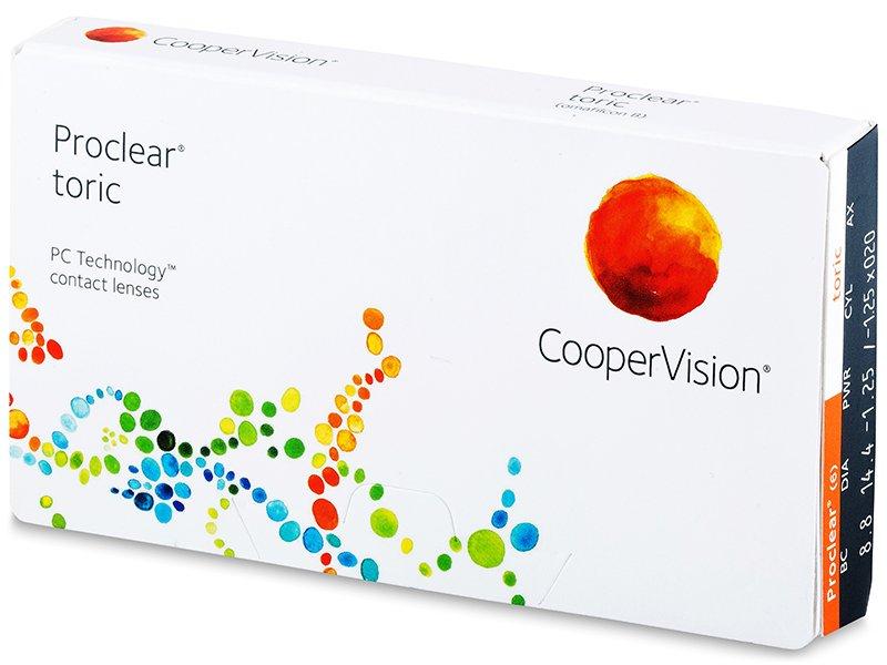 Proclear Toric (3 čočky) - Torické kontaktní čočky