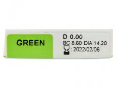 TopVue Color - nedioptrické jednodenní (10čoček) - Náhled parametrů čoček