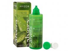 Roztoky na kontaktní čočky - čistící a dezinfekční oční roztoky - Roztok Alvera 350 ml