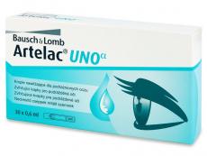 Kontaktní čočky Bausch and Lomb - Zvlhčující oční kapky Artelac UNO 30 x 0,6 ml