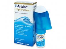 Kontaktní čočky Bausch and Lomb - Oční kapky Artelac TripleAction 10 ml