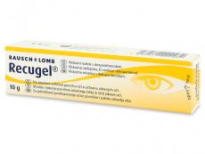 Kontaktní čočky Bausch and Lomb - Oční gel Recugel 10 g