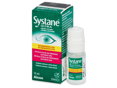 Oční kapky Systane Ultra bez konzervantů 10 ml