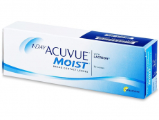 Kontaktní čočky Johnson and Johnson - 1 Day Acuvue Moist (30 čoček)