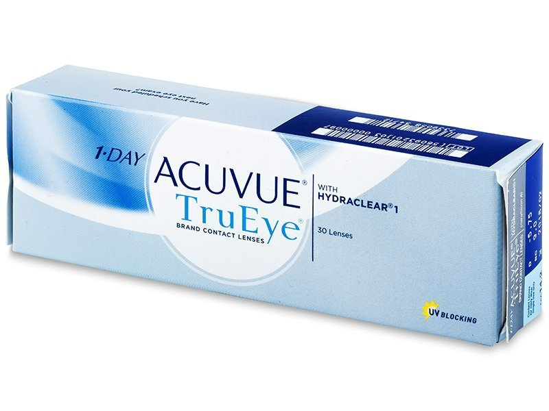 Jednodenní kontaktní čočky - 1 Day Acuvue TruEye (30čoček)