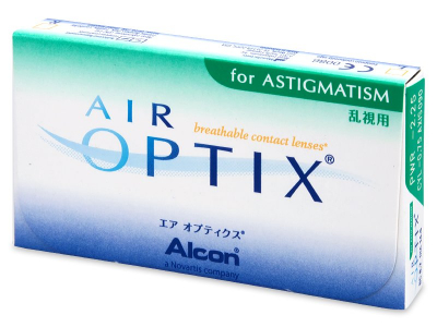 Air Optix for Astigmatism (3 čočky)