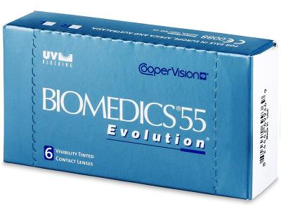 Biomedics 55 Evolution (6čoček) - Předchozí design